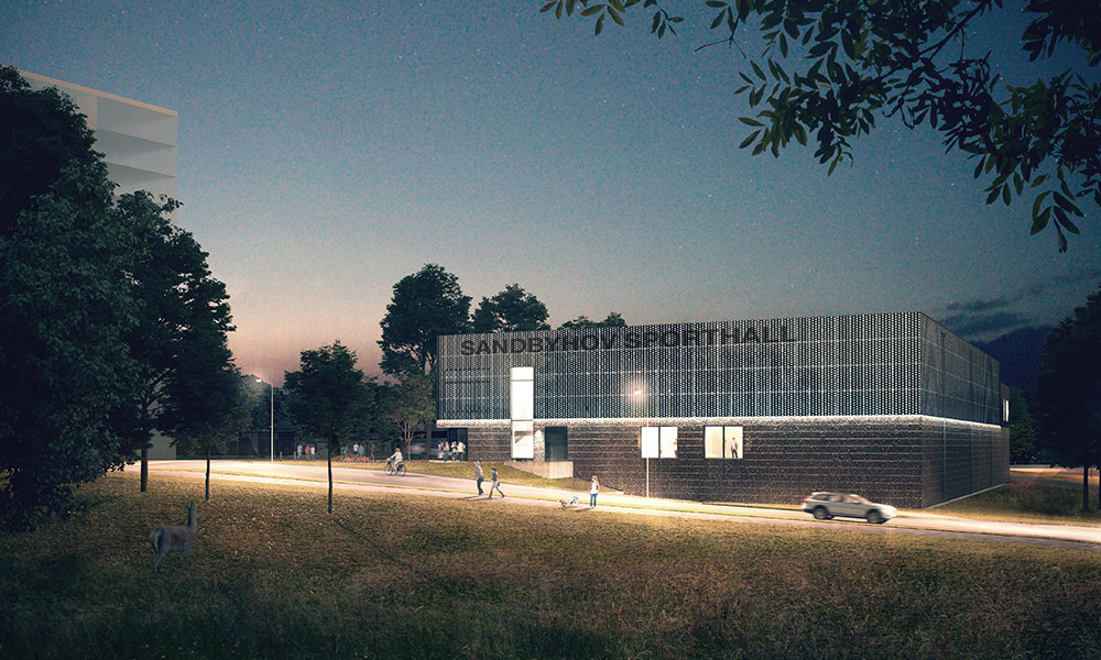Ny sporthall i Sandbyhov, Norrköping